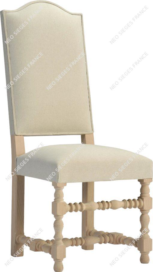 chaise bobines en hêtre