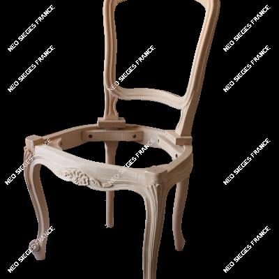1641 chaise Louix XV coquilles